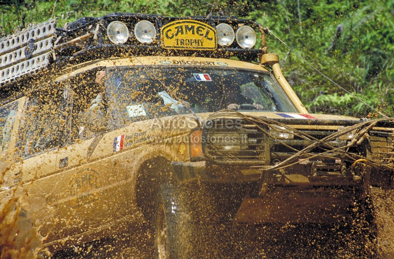 Land Rover Darien >> Camel Trophy